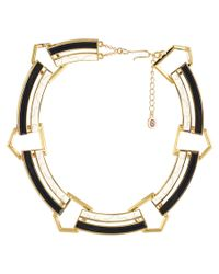 House of Harlow 1960 - Metallic 1960 Plated Resin Necklace - Lyst