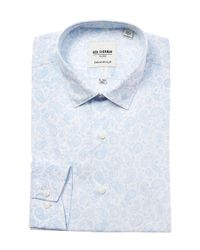 Ben Sherman - Blue Classic Oxford Long Sleeve Shirt for Men - Lyst