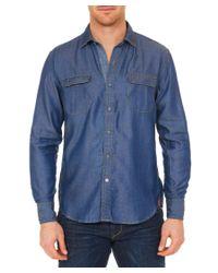 Robert Graham - Blue The Deep Woven Shirt for Men - Lyst