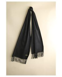 Hickey Freeman | Black 100% Cashmere Solid Scarf | Lyst