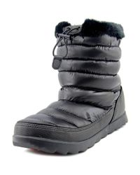 The North Face | Black Thermoball Micro-baffle Bootie Women Synthetic Snow Boot | Lyst