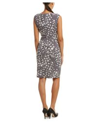 Anne Klein | Multicolor Sheath Dress | Lyst