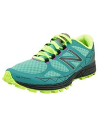 New Balance | Black Vazee Summit Women D Round Toe Synthetic Blue Trail Running | Lyst