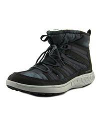 Merrell - Gray Pechora Pull Women Round Toe Canvas Boot - Lyst