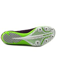 Saucony | Endorphin Md3 Women Round Toe Synthetic Purple Cleats | Lyst