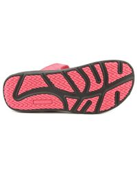 New Balance - Pink Revitalign Refresh Slide Women Open Toe Synthetic Slides Sandal - Lyst