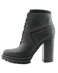 Gx By Gwen Stefani - Cope Women Round Toe Synthetic Black Bootie - Lyst