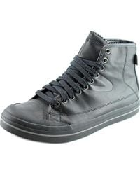 Tretorn   Black Skymra Mid Sl Gtx Round Toe Leather Sneakers for Men   Lyst