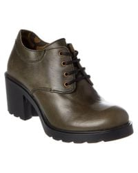 Fly London - Gray Caze Leather Ankle Boot - Lyst