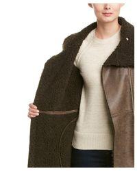 Ellen Tracy - Brown Coat - Lyst