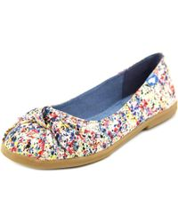 Rocket Dog | Multicolor Jiggy Lilly Women Round Toe Canvas Multi Color Flats | Lyst