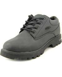 Lugz - Empire Lo Wr Men Round Toe Synthetic Black Work Shoe for Men - Lyst