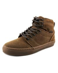 Vans | Brown Alomar Round Toe Canvas Sneakers for Men | Lyst
