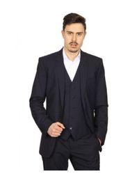 Dolce & Gabbana - Black Martini Mens Suit With Gilet for Men - Lyst