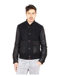 Giorgio Armani   Black Mens Jacket for Men   Lyst