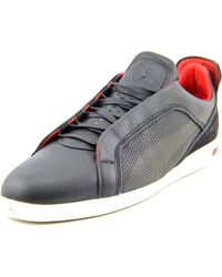PUMA - Ultimate Sf-10 Men Round Toe Leather Black Sneakers for Men - Lyst