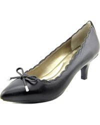 Me Too - Black Caprice 4 Women Pointed Toe Leather Heels - Lyst