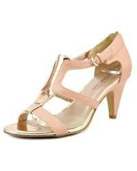 Bandolino - Pink Dacia Open Toe Synthetic Sandals - Lyst