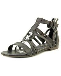 Alberto Fermani | Black Lucilla Open Toe Leather Gladiator Sandal | Lyst
