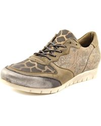 Miz Mooz | Multicolor Pericles Round Toe Leather Sneakers | Lyst