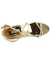 Badgley Mischka - Metallic Melaney Ii Women Open Toe Synthetic Wedge Heel - Lyst