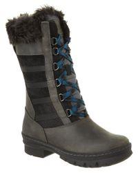 Keen   Black Women's Boulevard Wapato Waterproof Leather Tall Boot   Lyst