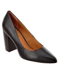 Corso Como - Black Kathy Leather Pump - Lyst