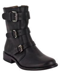 Corso Como | Black Kandace Leather Boot | Lyst