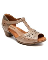 Cobb Hill | Brown Alyssa Leather Sandal | Lyst