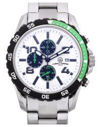 Aubert Freres | Metallic Robuchon Men's Chronograph Sport Watch for Men | Lyst