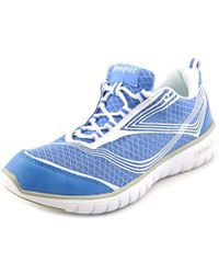 Propet - Metallic Travellite Women 2a Round Toe Synthetic Blue Running Shoe - Lyst