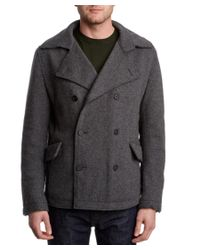 Dolce & Gabbana | Gray Wool-blend Coat for Men | Lyst