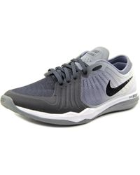 Nike | Dual Fusion Tr 4 Print Women Round Toe Synthetic Black Running Shoe | Lyst