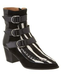 Isabel Marant | Black Dickey Buckle Leather Boot | Lyst