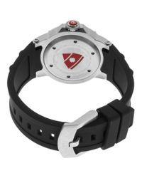Swiss Legend - Ultrasonic Black Silicone Mother Of Pearl Dial Stainless Steel - Lyst
