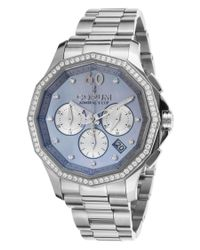 Corum | Metallic Women's Admiral's Cup Legend Diamond Auto Chrono Ss Grey Mop Dial | Lyst