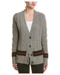 Kut From The Kloth - Gray Wool-blend Cardigan - Lyst