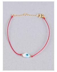Armitage Avenue | Red Hamsa Cord Bracelet | Lyst