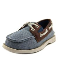 Sperry Top-Sider | Multicolor Sperry Top Sider Authentic Original Slip-on Men Leather Boat Shoe for Men | Lyst