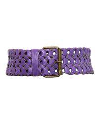 Motif 56 | Purple Belt | Lyst