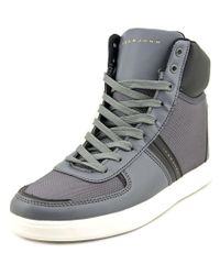 Sean John | Gray Nes Round Toe Synthetic Sneakers for Men | Lyst