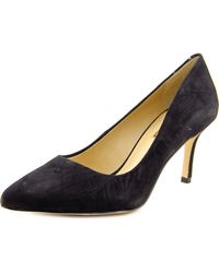 BCBGeneration | Black Pinni Pointed Toe Suede Heels | Lyst