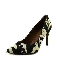 Donald J Pliner   Black Donald J Pliner Presli Women Pointed Toe Suede Multi Color Heels   Lyst