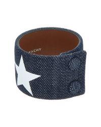 Givenchy | Blue Denim Bracelet | Lyst