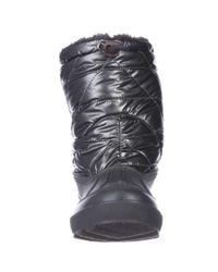 Dirty Laundry - Metallic Booster Pak Short Waterproof Boots - Pewter - Lyst