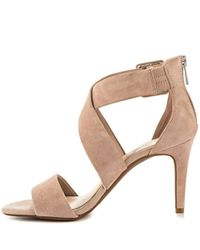 Jessica Simpson - Brown Women's Liddy Strappy Heeled Sandals - Lyst