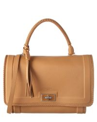Givenchy | Brown Shark Medium Leather Tote | Lyst