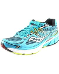 Saucony | Multicolor Omni 14 Women Round Toe Synthetic Blue Running Shoe | Lyst