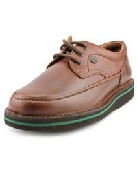 Hush Puppies | Brown Mall Walker Men 3e Round Toe Leather Oxford for Men | Lyst
