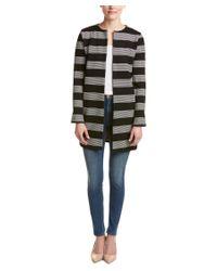 English Factory | Black Loose Fit Stripe Jacket | Lyst